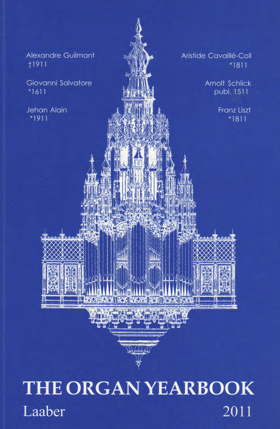 The Organ Yearbook 2011 (nr.40) / Emanuele Cardi, Giovanni Salvatore (16111688). On the 400th anniversary of his birth /https://www.goodreads.com/book/show/13080283-the-organ-yearbook-2011